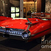 1959 Cadillac Convertible - 7d17376 Poster by Wingsdomain Art and Photography