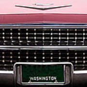 1959 Cadillac Convertible Poster