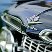 1959 Chevrolet Grille Emblem Poster