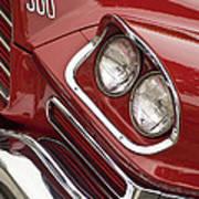 1959 Chrysler 300 Headlight Poster