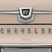 1959 Chrysler New Yorker Emblem Poster