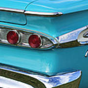 1959 Edsel Corvair Taillights Poster