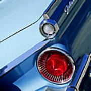1959 Ford Skyliner Convertible Taillight Poster