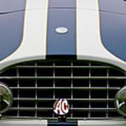 1960 Ac Ace Roadster Grille Emblem Poster