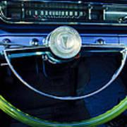 1961 Pontiac Catalina Steering Wheel  Poster