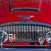1962 Austin-healey 3000 Mkii Grille Poster