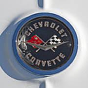 1962 Chevrolet Corvette Emblem 4 Poster