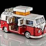 1962 Vw Lego Bus Poster