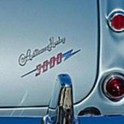 1963 Austin-healey Taillight Poster