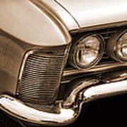 1963 Buick Riviera Sepia Poster