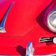 1963 Red Porsche Poster