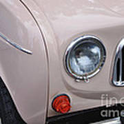 1963 Renault R4 - Headlight And Grill Poster by Kaye Menner