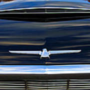 1964 Ford Thunderbird Hood Emblem Poster