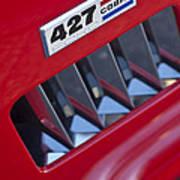 1965 Ac Cobra Emblem 2 Poster