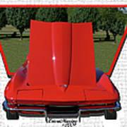 1965 Corvette Poster