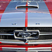 1965 Ford Mustang Front End Poster