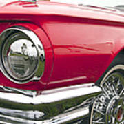 1965 Ford Thunderbird Front End Poster
