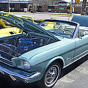 1965 Mustang Convertible Poster