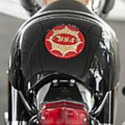 1966 Bsa 650 A-65 Spitfire Lightning Clubman Motorcycle Poster by Jill Reger
