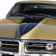 1967 Bronze Pontiac Firebird  Poster