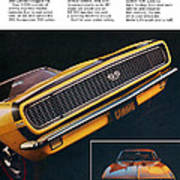 1967 Camaro Ss Poster