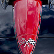1967 Chevrolet Corvette Hood Emblem 5 Poster