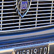 1967 Lancia Fulvia Berlina Grille Emblem Poster