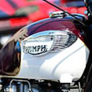 1967 Triumph Gas Tank 3 Poster