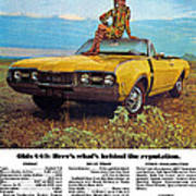 1968 Oldsmobile 4-4-2 - Here's What's Behind The Reputation. Poster