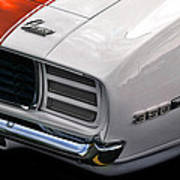 1969 Chevrolet Camaro Indianapolis 500 Pace Car Poster by Gordon Dean II