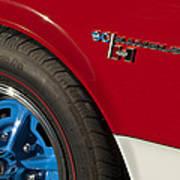 1969 Sc Rambler Wheel Emblem Poster