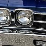 1970 Chevrolet Chevelle Antique Show Car Poster