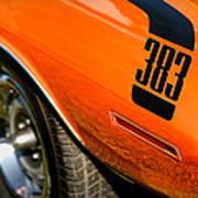 1970 Plymouth Cuda Barracuda 383 Poster