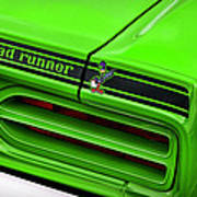 1970 Plymouth Road Runner - Sublime Green Poster