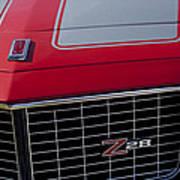 1971 Chevrolet Camaro Grille Poster