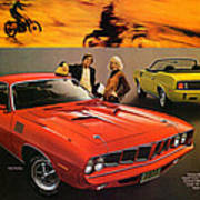 1971 Plymouth Barracuda Poster