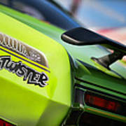 1971 Plymouth Duster Twister Poster