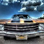 1972 Chevelle Poster