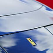 1972 Ferrari 365 Gtb 6c Emblem  Poster