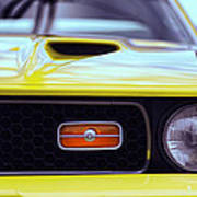1972 Ford Mustang Mach 1 Poster