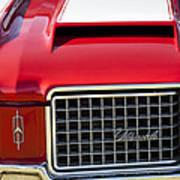 1972 Oldsmobile Grille Poster