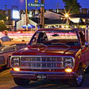 1979 Dodge Li'l Red Express Truck Poster
