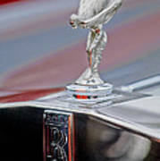 1984 Rolls-royce Silver Spur Hood Ornament Poster