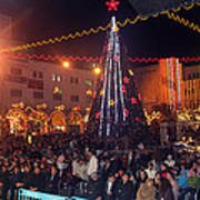 1st International Christmas Festival Poster