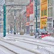 1st Real Snowfall Plow 2012 Poster