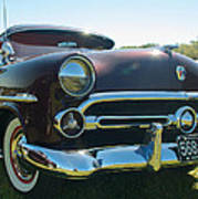 1952 Ford Customline Poster