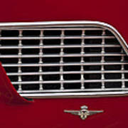 1960 Maserati 3500 Gt Coupe Emblem Poster