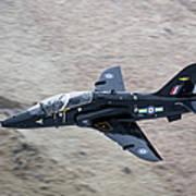 A Hawk Jet Trainer Aircraft Poster