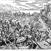 Amerigo Vespucci (1454-1512) Poster
