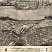 Andersonville Prison, 1864 Poster